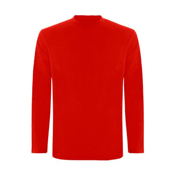 camiseta-larga-niño-roja