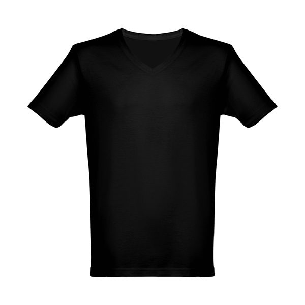 camiseta-corta-pico-hombre-negra